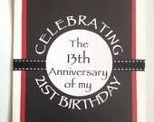 A5 Funny Birthday Card - Customisable