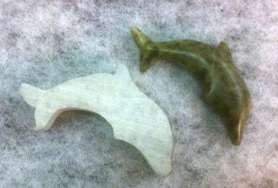 Items similar to soapstone carving kit dolphin on etsy