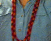 Knitted I-Cord Necklace