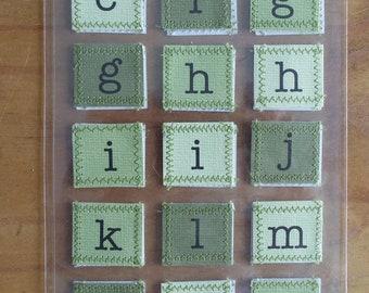 Alphabet & Number Stickers