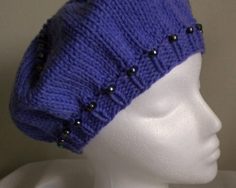 Crochet CLOCHE HAT PATTERN with Flower