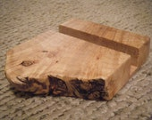 Burl Business Card Holder
