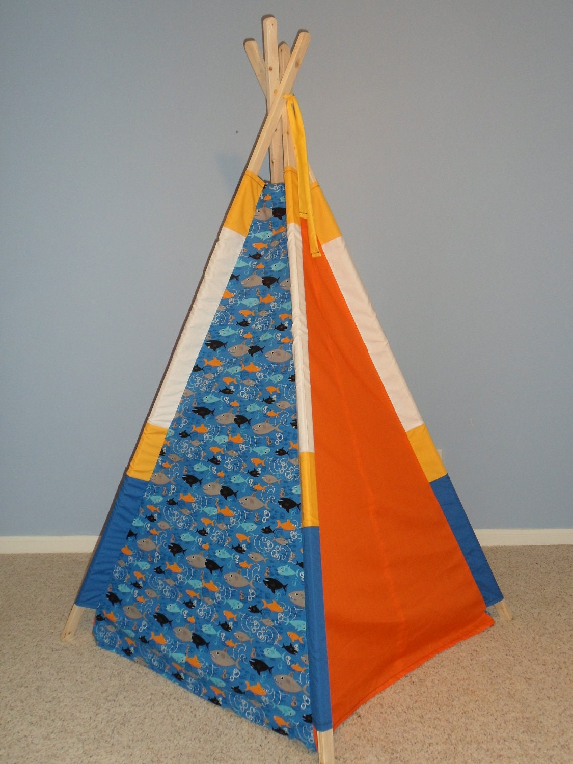 Kids Teepee Play Tent Tipi Indoor Tent Childrens Teepee