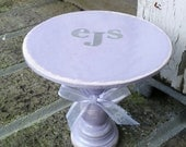 cupcake/ smash cake stand in shabby chic theme