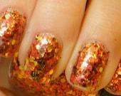 Autumn Leaves: hand mixed glitter nail polish Full size .5 oz. Coco Allure - CocoAllurePolish