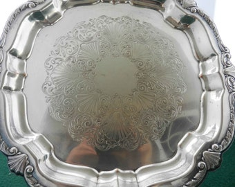 William Rogers Square Shape Serving Tray