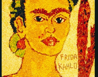 Frida Kahlo Postcard