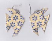 Adorable Origami Fish Earrings