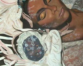 Voodoo Dreams - Original Oil Painting on stretchered canvas by International artist Allen Richings