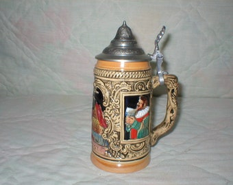 W. Germany Beer Stein  Old