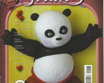 On SALE! Cold Porcelain magazine 43 - Panda Bear & more. (Spanish) Ed Tercermilenio Projects Step by Step - Porcelana fria - Biscuit - Clay