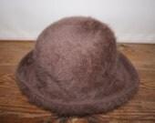 Kangol Fur Cloche Hat 'Charlene' 1980's