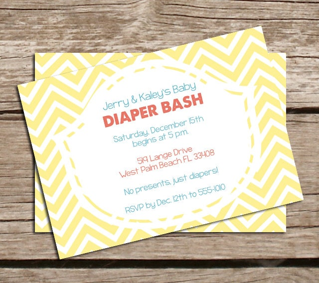 Diaper Shower Invitation Wording for awesome invitations design