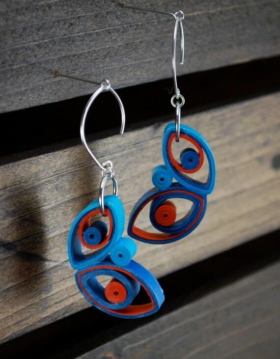 St anniversary jewelry lightweight earrings by