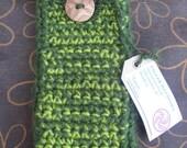 Crochet pencil case/Estuche para lápices de ganchillo
