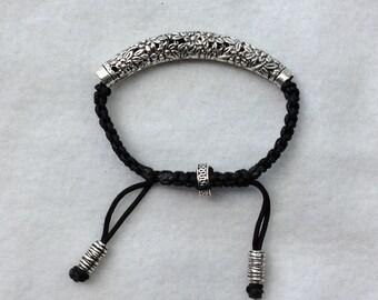 Women Shamballa Bracelet-Silver