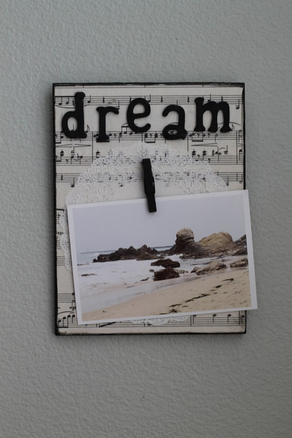 Dream Picture/Note Hanger