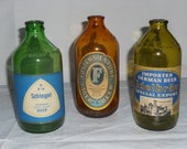 Vintage German Beer Bottles