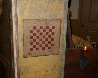 Primitive checkerboard