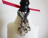 ONE Black Cell Phone Strap