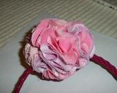 Puff Ball Flower- Pink/Purple- Headband- Sweet And Wild Things