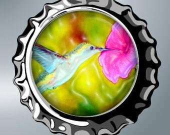 Hummingbirds - 1 inch rounds graphics for scrapbooking, stickers, Digital Printable Bottle Cap Images File 4x6, BUY 2 GET 1 FREE
