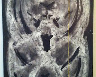 Original painting of MRI, frame 9