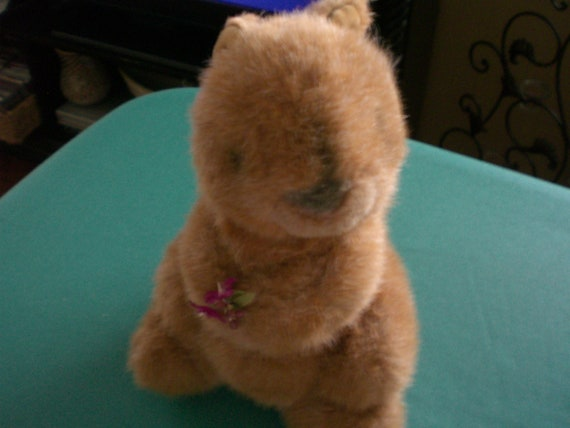 RESERVED for Fiona 1986 Gund Nutty Squirrel REDUCED 40% WAS 10.00