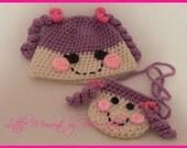 Lalaloopsy Hat and Purse
