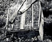 Abandoned Rowboat -  Maine - Photography -  8x12