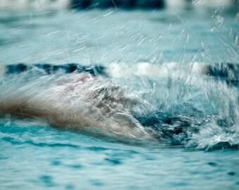 Backstroke Speed Abstract - Photography --  8x12