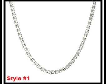 """20"""" Sterling Silver Chain"""