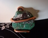 gp1014 Turquoise and Copper Pendant for necklace