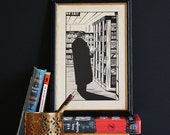 Crime - Limited Edition Giclee Print by Kate Madigan