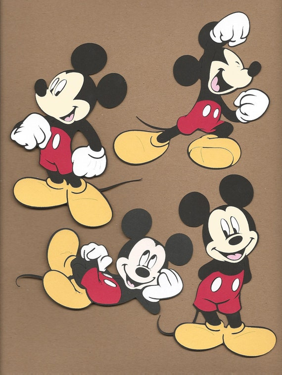 mickey mouse cut s - photo #1