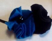 Rachel's Handmade Abstract Felt Flower Headband