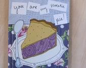 Greeting Card - Sweetie Pie