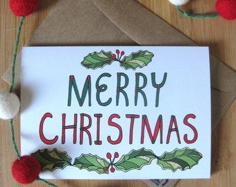 Greeting Card - Merry Christmas