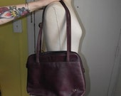Vintage Leather Burgundy Etienne Aigner Tote