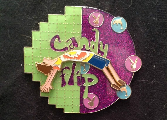 The Candy Flipper Pin for Phish, STS9, Dead, Further, Cheese, and Biscuits Fans