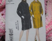 Vintage Coat Pattern: Vogue