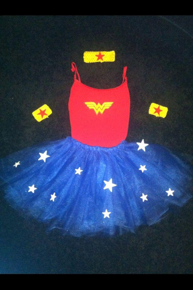 Wonder Woman Tutu Costume By MariahsTutus On Etsy