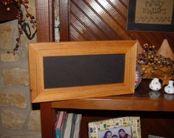 FREE SHIPPING Solid cedar wood 4x10 picture photo craft frame oak finish country rustic panoramic display