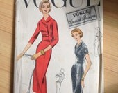 Vogue special design, S-4718, size 16 (36 bust, 38 hips), vintage sewing pattern