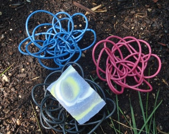 Handmade Wire Soap Dish - Draining Soap Dish