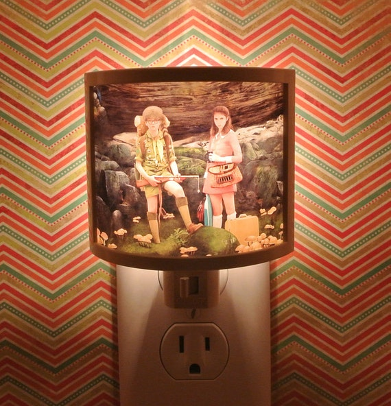 Moonrise Kingdom Night Light 3 designs to Choose from bathroom hallway bedroom TAKE IT with