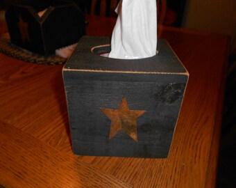 Tissue Box Small Primitive