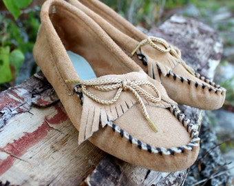 Womens Soft Sole Moccasins