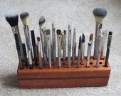 Handmade wooden makeup/tool organizer