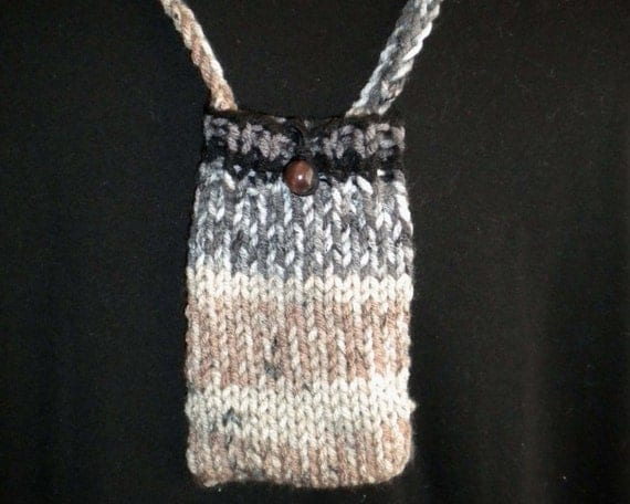 Cell Phone Holder Necklace